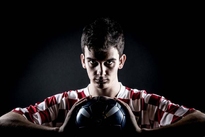 Sport Photography - Soccer Portrait