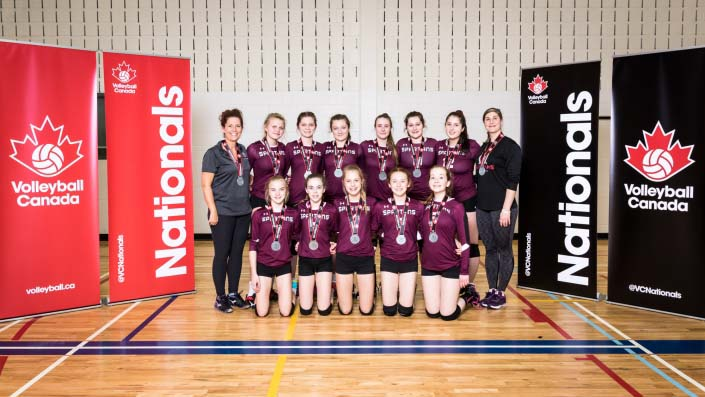 Volleyball Canada - U15 East Team Photo
