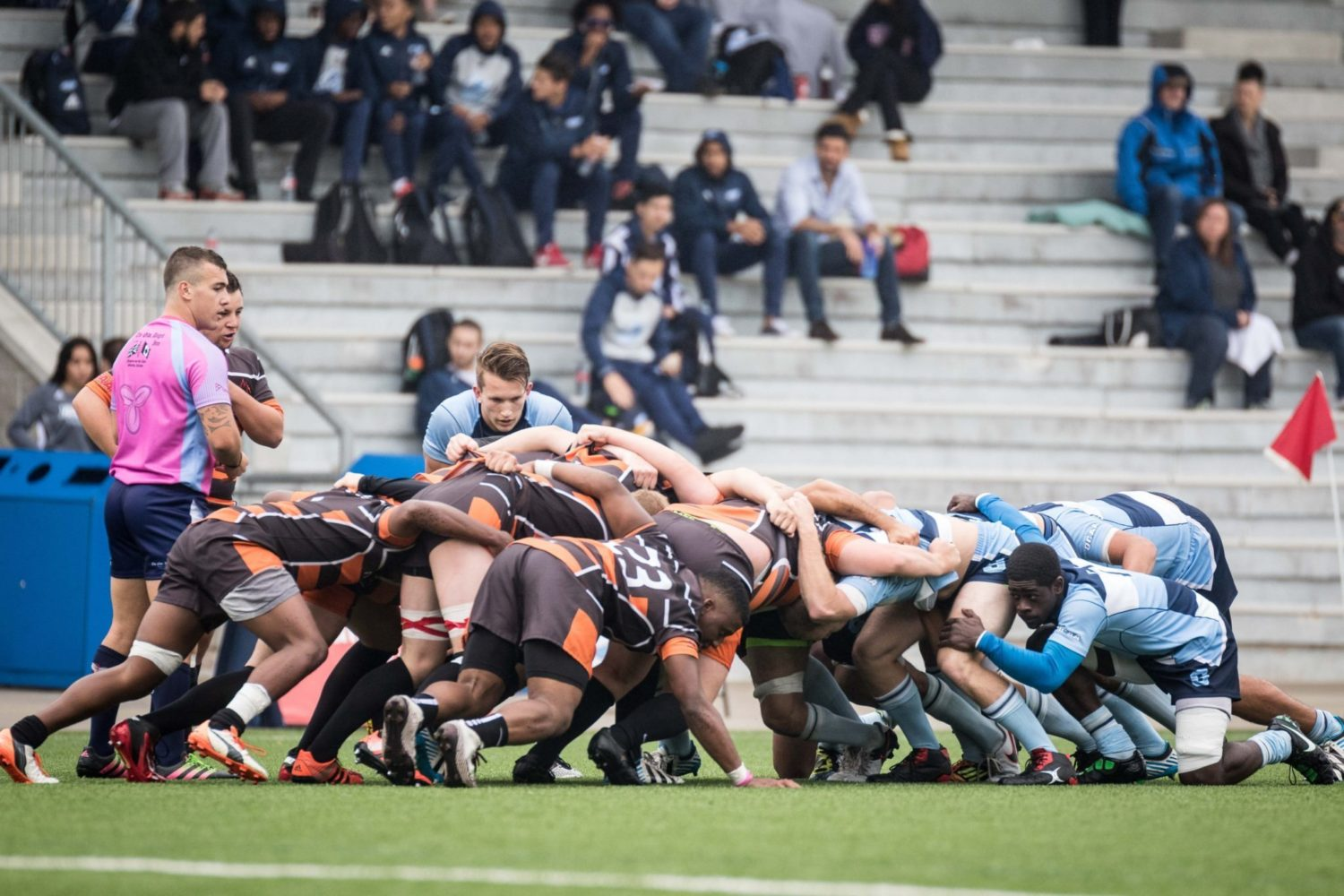 Sport Photography - Rugby Players Line Up