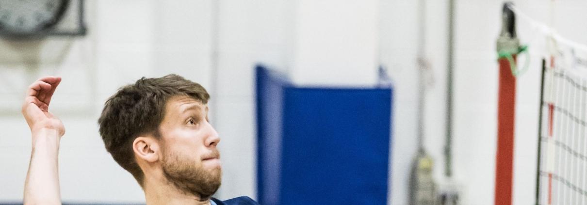 OAKVILLE, ON – Jan. 14, 2017: Sheridan vs. Humber in OCAA Volleyball action.