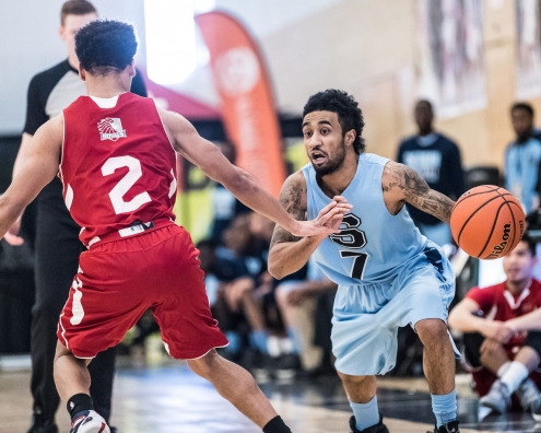 TORONTO, ON – Mar. 2, 2017: Sheridan Bruins vs. Redeemer Royals at OCAA Championship.