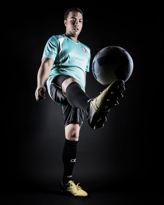 Soccer Portrait - Keep-Ups