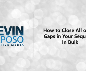 How to Close All of the Gaps in Your Sequence In Bulk