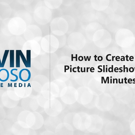 How to Create a Basic Picture Slideshow in Two Minutes