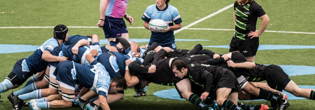 Ontario Colleges Athletic Association game between the Sheridan Bruins and the Algonquin Thunder