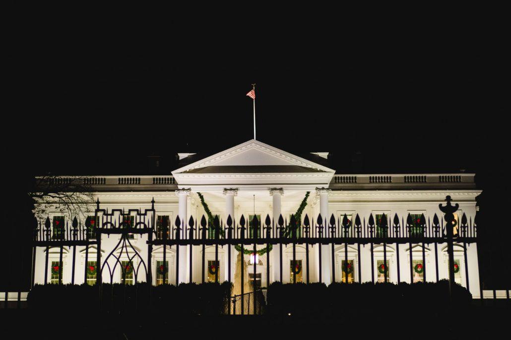 The White House in Washington, D. C.