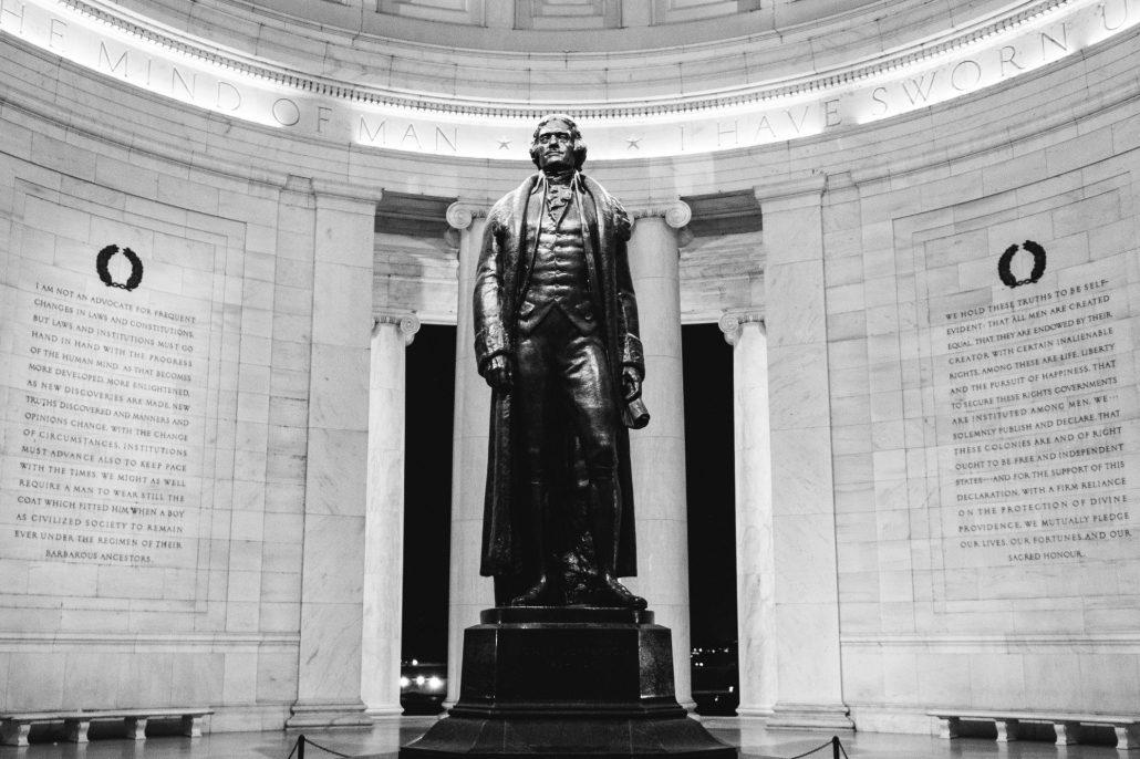 Jefferson Memorial in Washington, D. C.