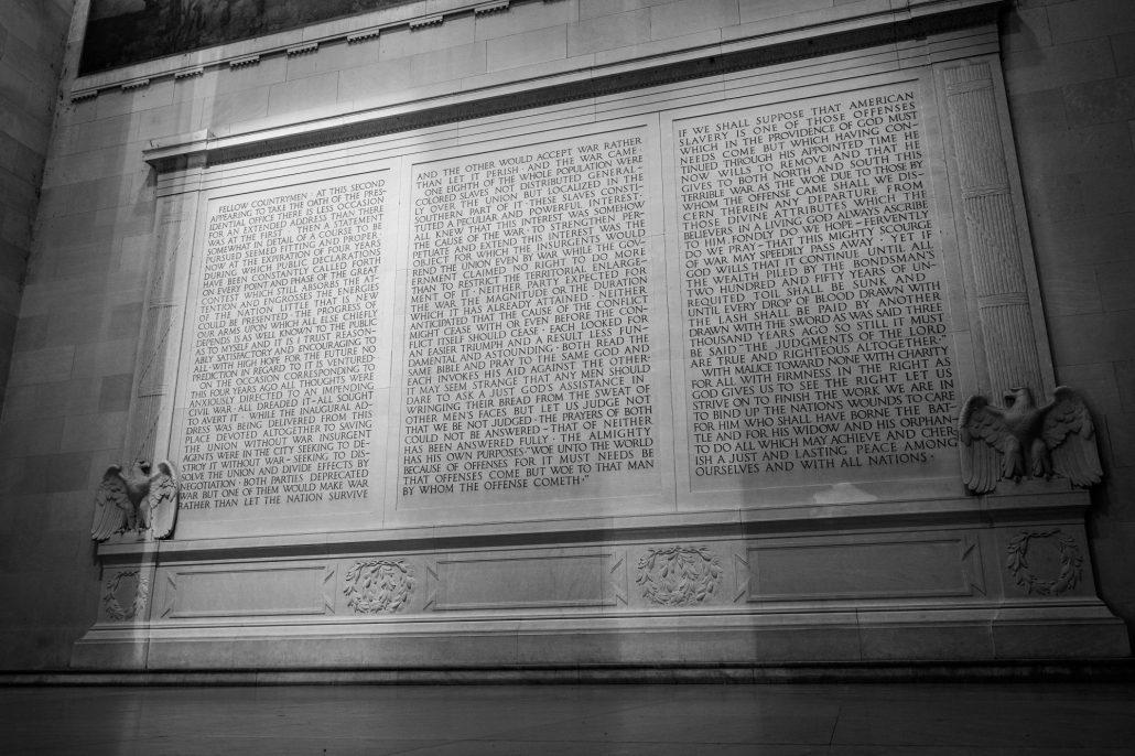 Lincoln Memorial in Washington D. C.