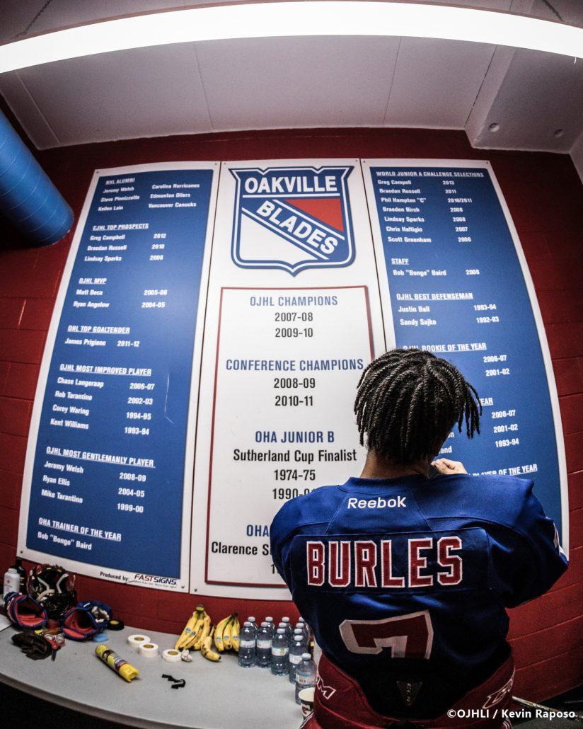 Buffalo Jr. Sabres v Oakville Blades