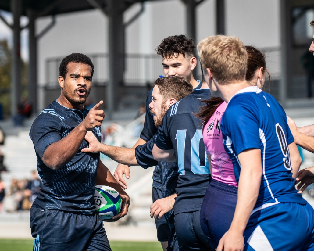 Sports Photography - OCAA Men's Rugby, Sheridan vs. Georgian