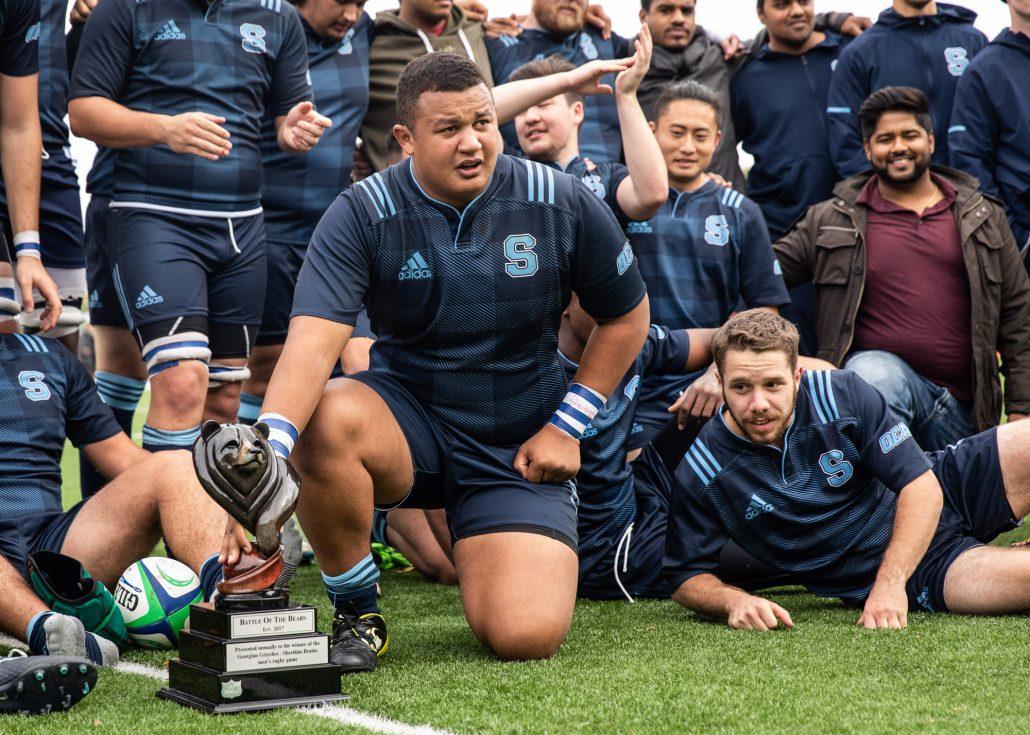 Sports Photography - OCAA Men's Rugby, Sheridan vs. Georgian