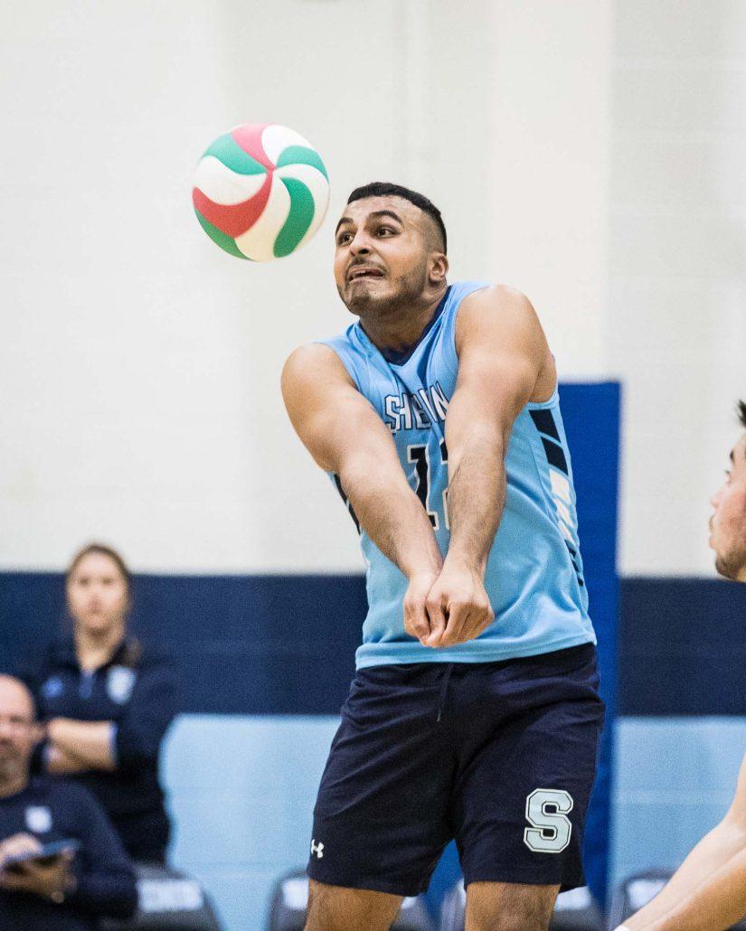 Sports Photography – OCAA Women's and Men's Volleyball, Sheridan Bruins vs. Conestoga Condors in Oakville, Ontario, Canada