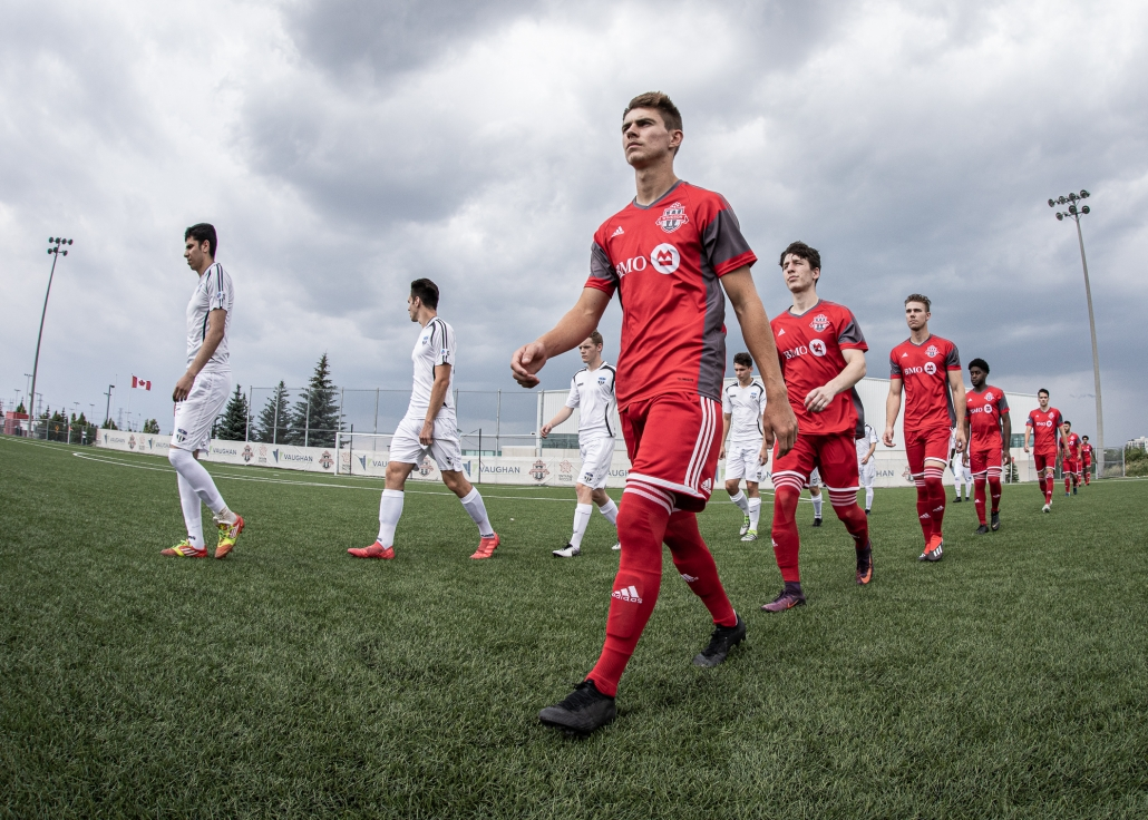 Sports Photography – League1 Ontario Regular Season, Men's Soccer, Windsor TFC vs. OSU Force in Toronto, Ontario, Canada at Ontario Soccer Centre