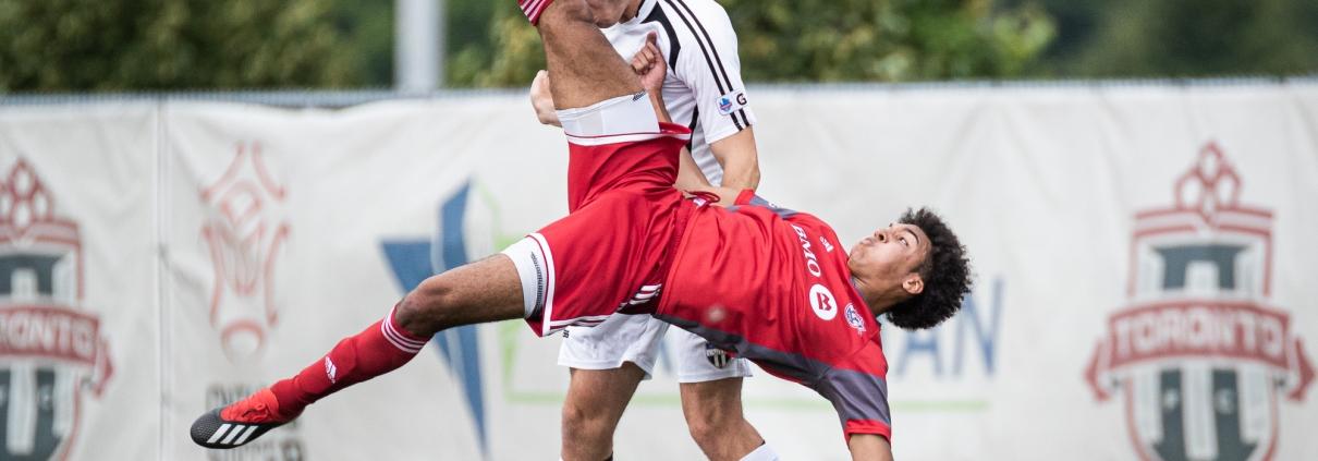 Sports Photography – League1 Ontario Regular Season, Men's Soccer, Windsor TFC vs. OSU Force in Toronto, Ontario, Canada at Ontario Soccer Centre