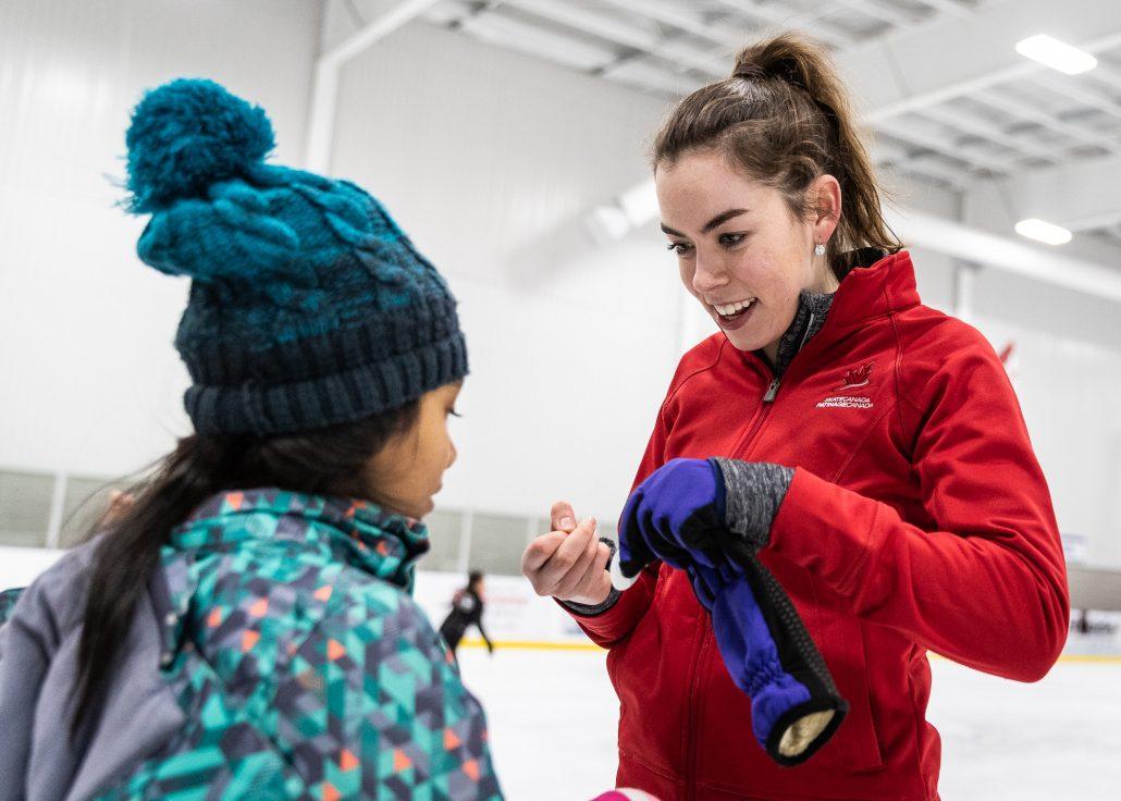 Sports Photography – Skate Canada, Motivational Tour for 2020 ISU World Figure Skating Championships, Kirsten Moore-Towers, Michael Marinaro, Trennt Michaud, Evelyn Walsh, Veronik Mallet, Roman Sadovsky, Nam Nguyen in Oakville Ontario, Canada at Sixteen Mile Sports Complex