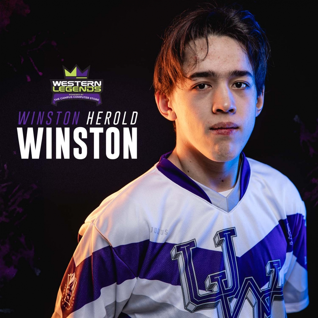 Sports Photography – Team and Player Headshots, Western Legends, League of Legends in London, Ontario, Canada at Western University