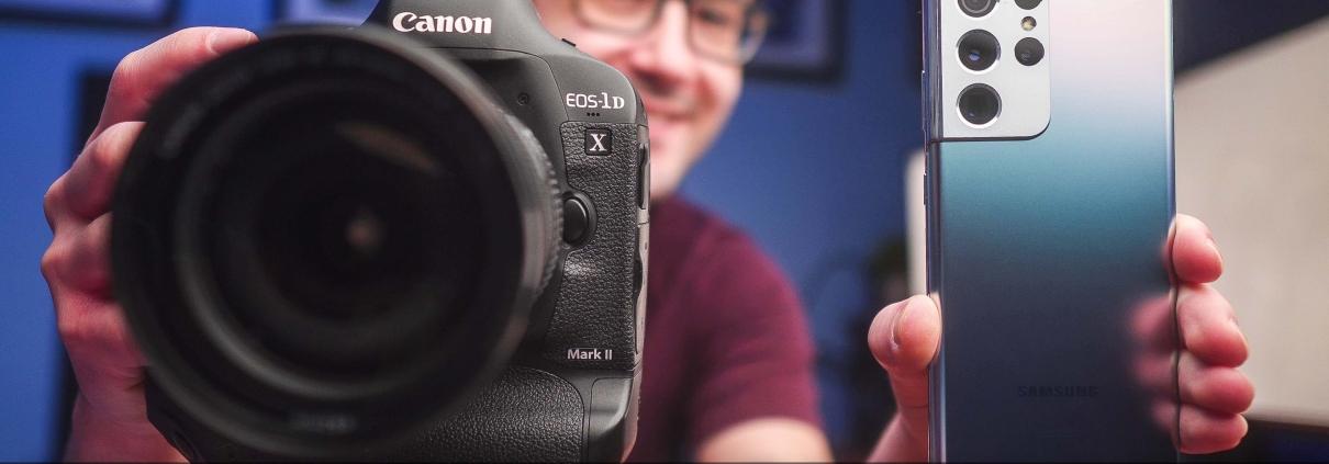 Galaxy S21 Ultra vs. Canon 1DX Mark II