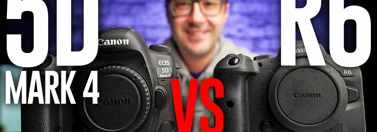 Canon 5D Mark 4 vs. Canon R6: Which is BETTER?