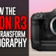 Canon R3: The convergence of photography and video?