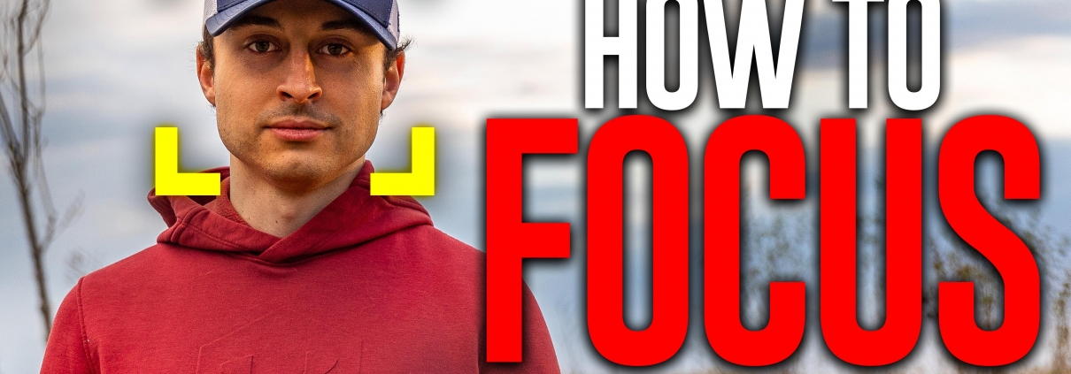 How to FOCUS and take SHARP pictures!
