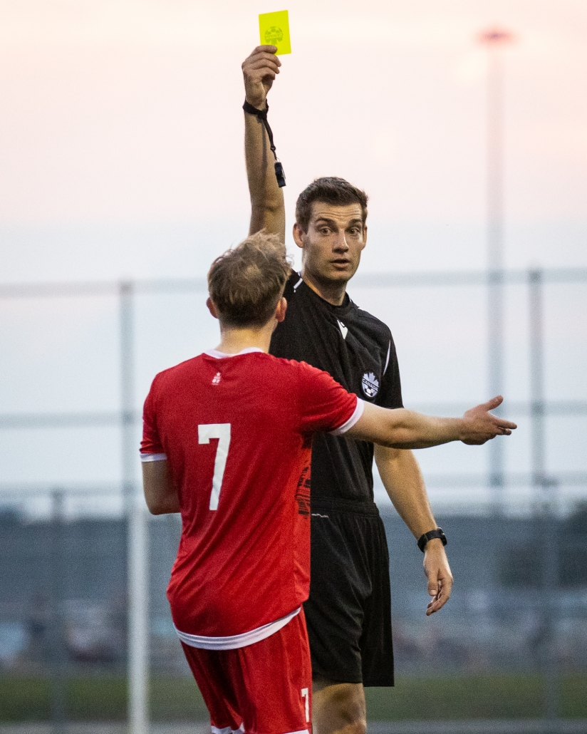 League1 Ontario soccer game between North Mississauga FC and ProStars Brampton
